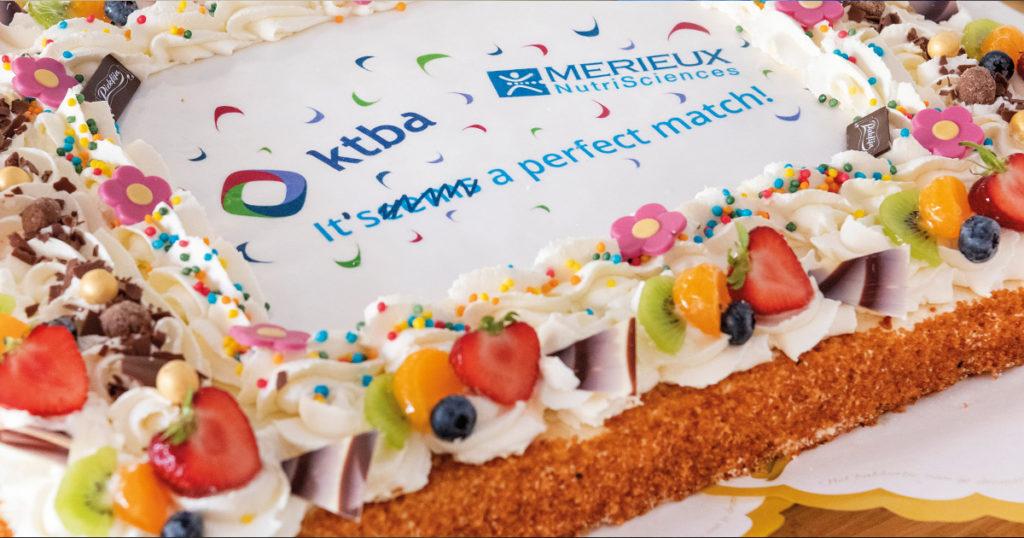 Eén jaar KTBA a Mérieux NutriSciences Company
